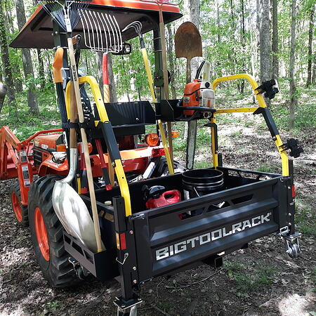 Loaded BRT on Kubota in NC