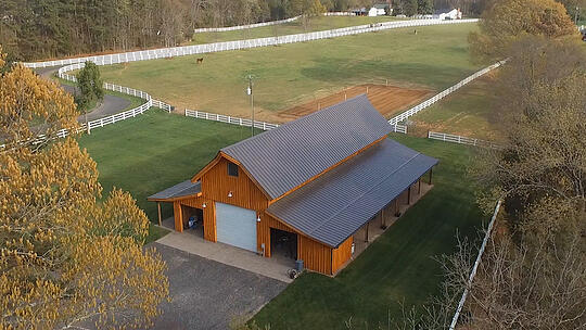 Your barn can be designed to store anything