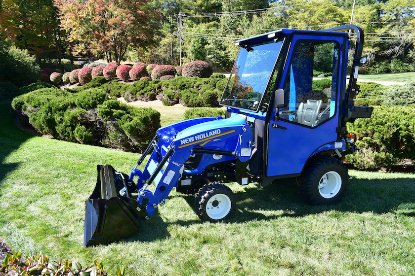 Curtis Advantage Cab for New Holland Subcompact Tractors