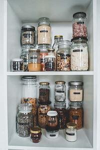 Keep your kitchen organized and you'll be happier when cooking