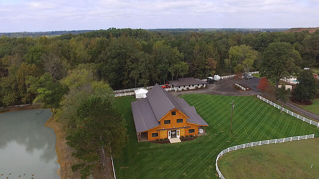 Creating a barn storage area can transform your property
