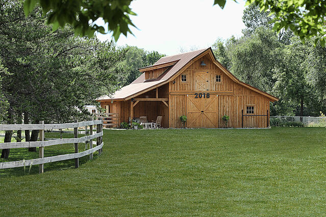 Barn storage can be beautiful and functional