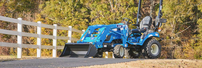 Subcompact tractor from LS