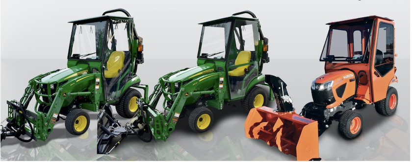 New tractor cabs from Curtis Industries