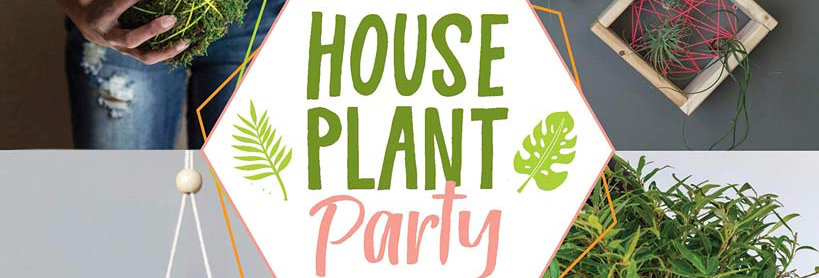 house plant party book cover