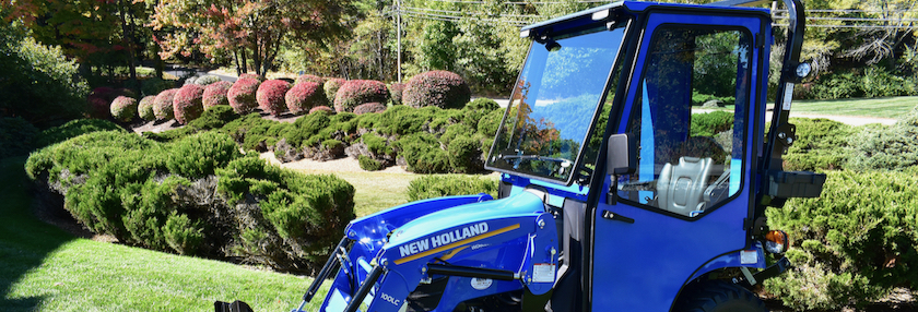 Curtis Cab for New Holland Workmaster 25S