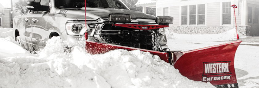 The all-new Western Enforcer V-plow