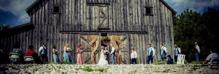 A barn that is also a wedding and event venue