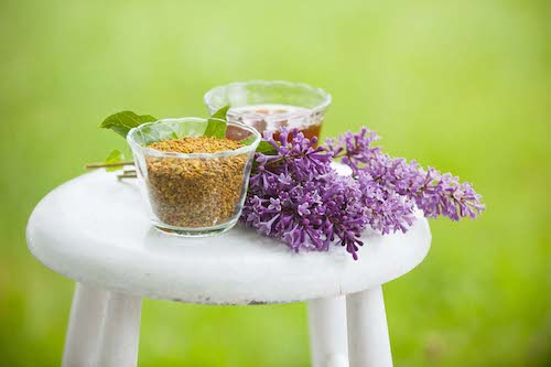 Bee pollen is packed with vitamins and more!