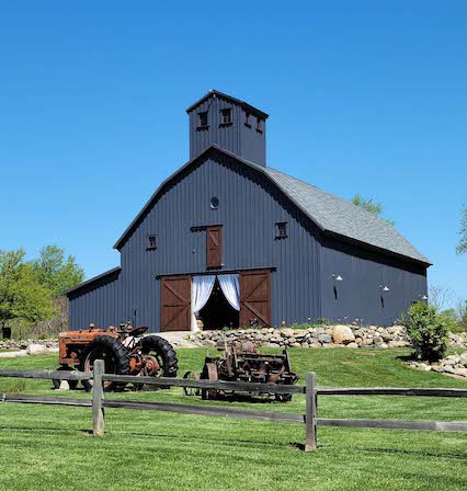 Your barn could be a wedding venue or business