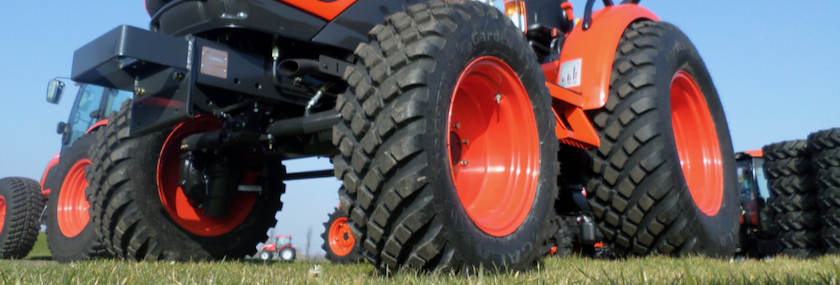 Choose the proper tires for your tractor